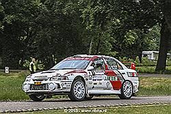 Piet van Hoof wint Autosoft Vechtdal Rally