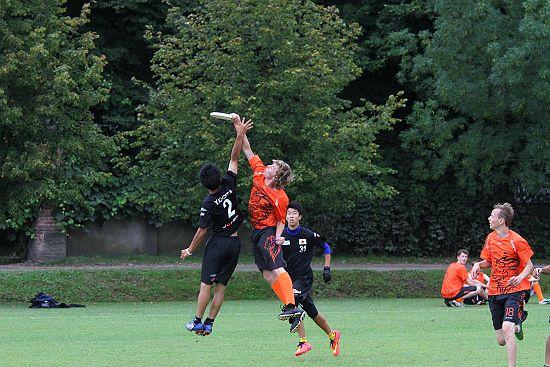 WJUC2014 - Nederland - Japan, U20 open