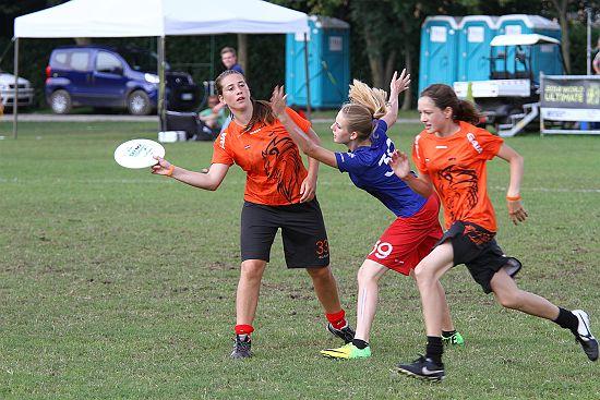 EYUC2014 - Nederland - Frankrijk, Finale U17 meisjes